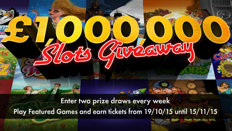 Részesedj te is a bet365 Casino 1.000.000/1.500.000 fontos díjából