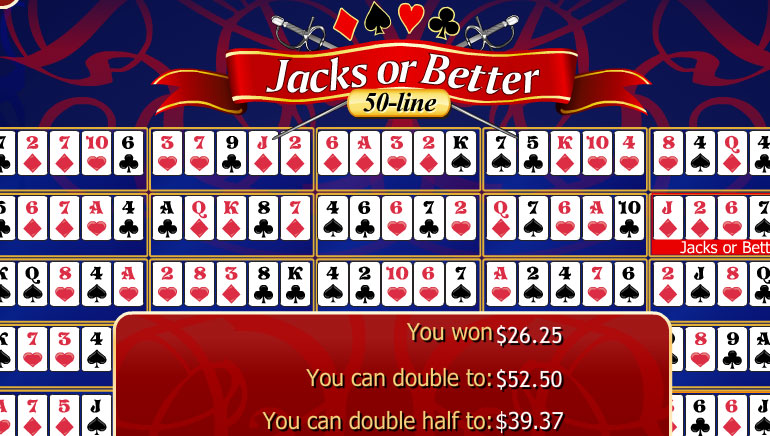 50-Line Jacks or Better