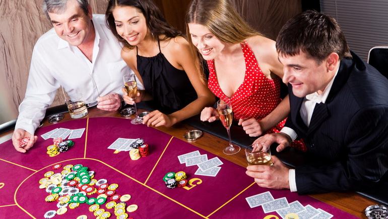Casino játékok a barátai játszanak