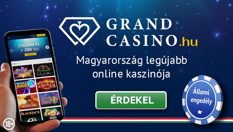 A Grand Casino bevezeti a magyar játékosokat az online szerencsejátékba