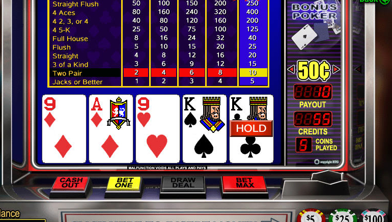 Ingyenes Online Video Poker